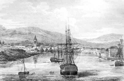 Hobart Town, Van Diemen's Land, c.1834