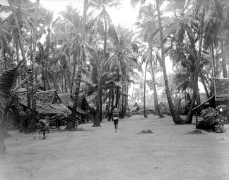 Yamdena village c.1910.
