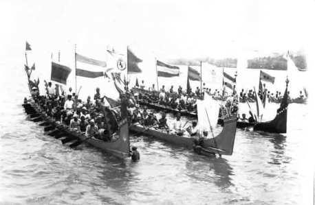 Tanimbar canoes