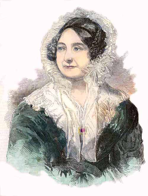 Princess Mary, the Duchess of Gloucester, c. 1834.